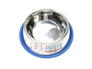 画像1: ペティオ ステンレス製富士型食器(中)【定形外郵便・簡易包装510円対応】 (1)