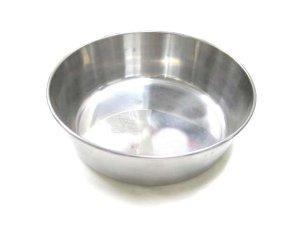 画像1: 【在庫品】ドギーマン ステンレス皿型食器 26cm 【日本製】 (1)