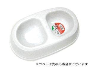 画像1: MADE IN U.S.A(米国製) 東京ペット ペットダイナーダブルMサイズ ペット用食器 ストーン (1)