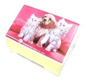 画像1: 【訳あり】日本ペットフードのペットフィーダー【日本製、室内ペットの給餌器】ペット用品 犬具 食器 (1)